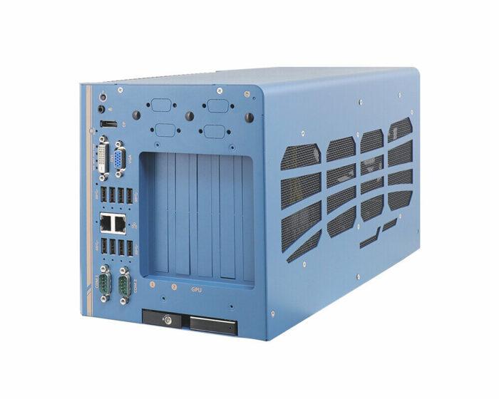 Nuvo-8108GC-XL: Industrietaugliche Edge-KI-Plattform mit Unterstützung für NVIDIA® RTX 30-GPU und für Intel® Xeon® E- oder 8./9.-Gen Core™-CPUs